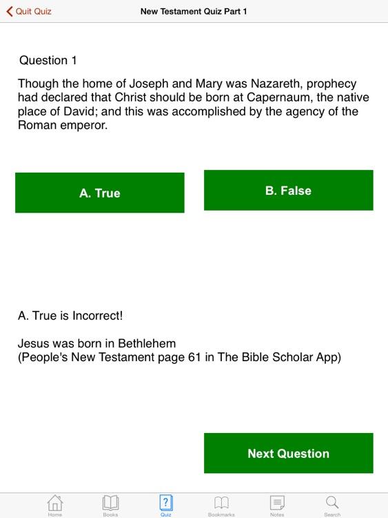 The Bible Scholar Interactive screenshot-3