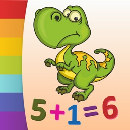 Dinosaurs - Color by Numbers - Free