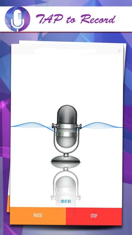 Voice Recorder Plus - Record Voice Audio Memos Quickly & Share