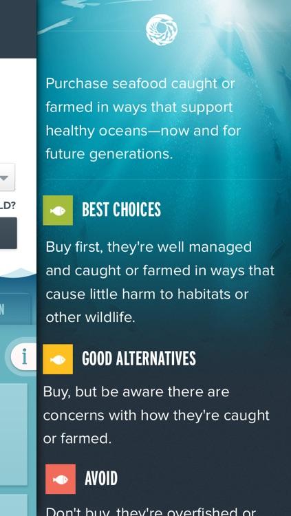 Seafood Watch screenshot-3