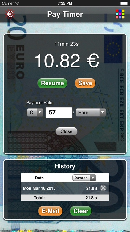 Pay Timer