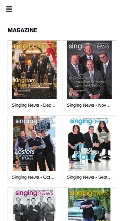 Singing News Magazine