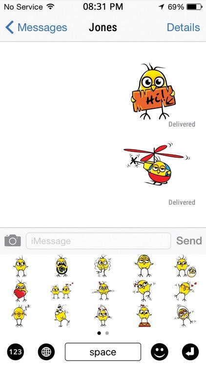 Chicken Emojis screenshot-3