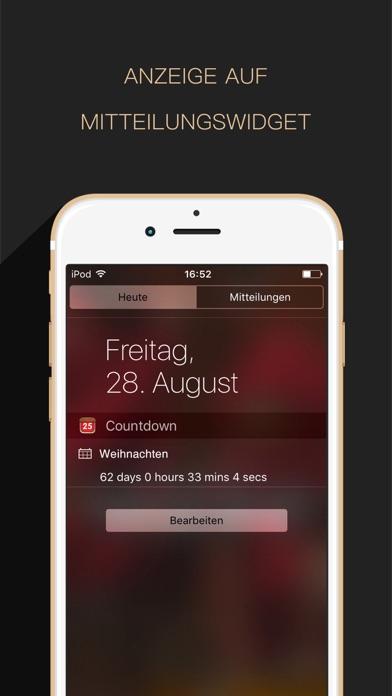 Countdown App Free (Big Day Event Timer Reminder)Screenshot von 2