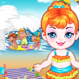 Baby Beach Friends free makeover HD games