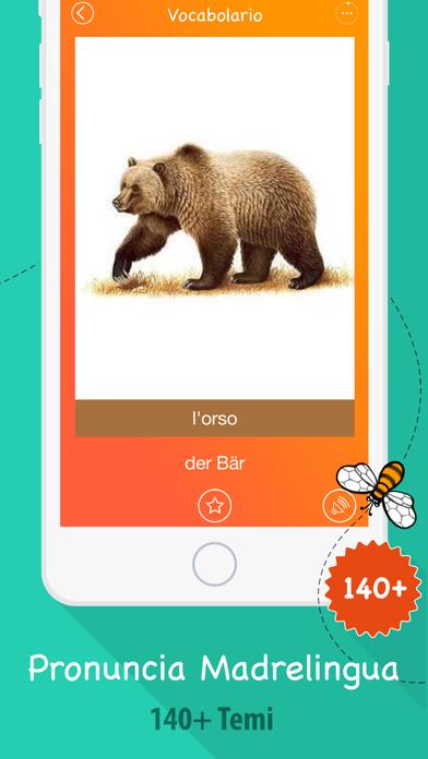 Screenshot of 6000 Parole - Impara Vocabolario Tedesco Gratis2