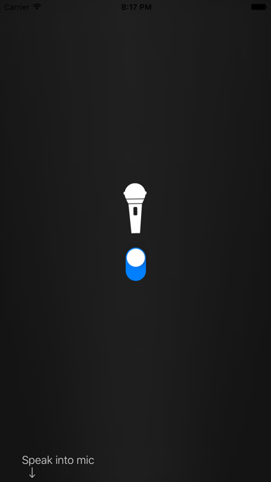 iMic - Use your phone as a microphone screenshot two