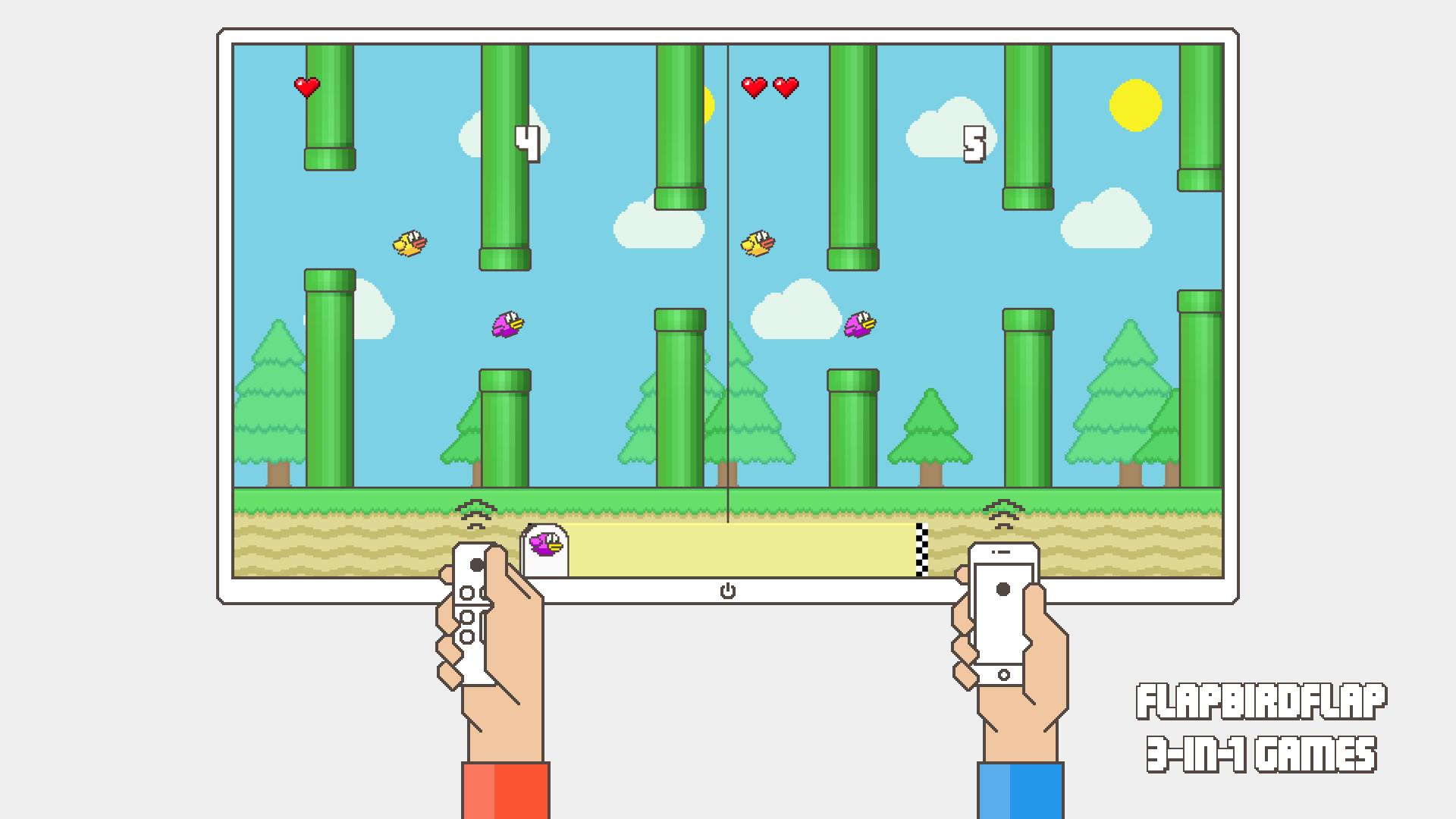Flappy Family Bird Arcade screenshot 11