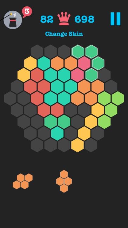 10/10 Hex Fit - Block Puzzle Hexagon Brick Mania