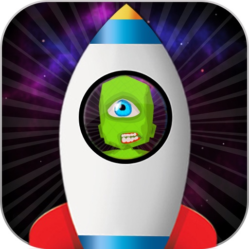 Alien galaxy jump 2D Game free