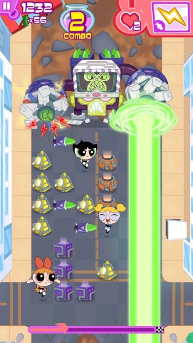 フリップアウト! – パワーパフ ガールズのパズル&バトルアクションゲームのおすすめ画像3