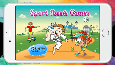 World Sport Puzzle Game on Train for Preschool
