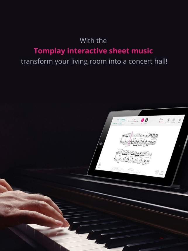 Tomplay Sheet Music on the App Store
