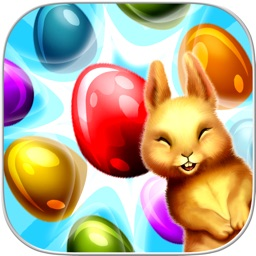 Easter Eggs: Fluffy Bunny Swap Puzzle Game