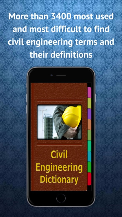 Civil Engineering Terms Dict.