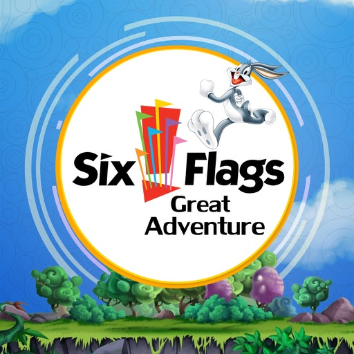 Great App for Six Flags Great Adventure