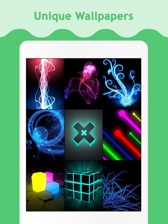 Neon Wallpapers for iPad