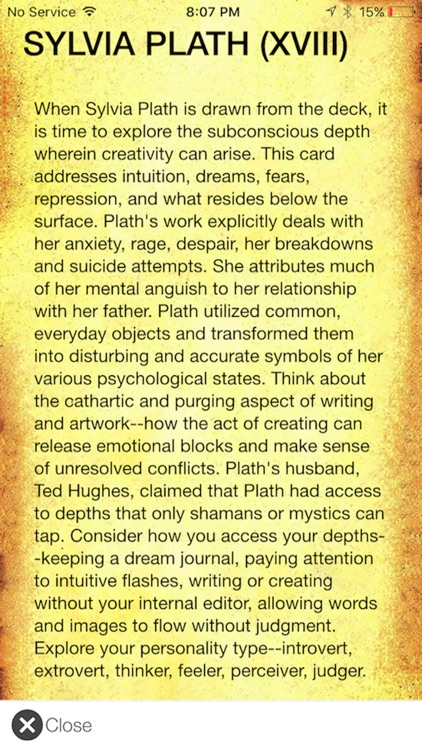 The Poet Tarot - Creativity Tool