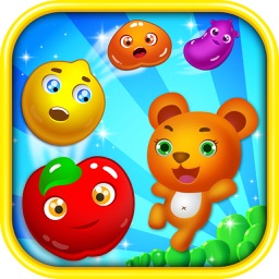 Amazing Ace Fruits Link Mania HD 2 - The Best Match 3 Puzzle Fruit Connect Adventure For Family And Friends