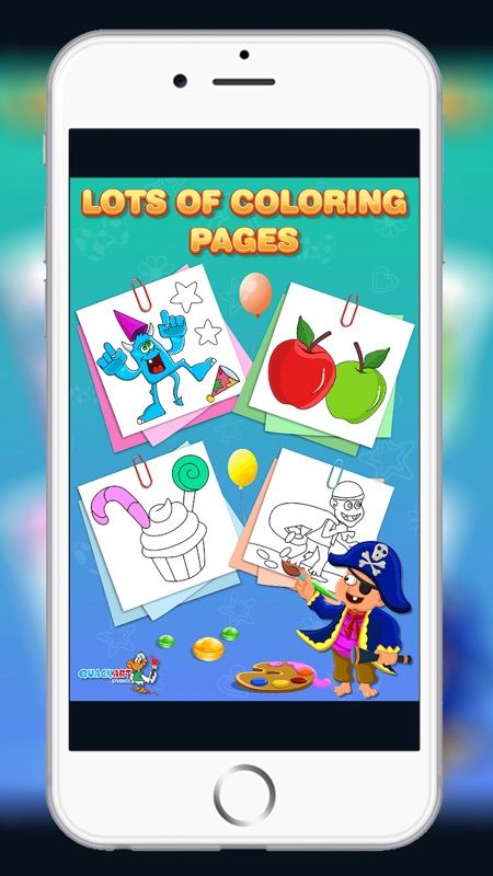 Kids Colouring Book - Fun Coloring Games to Paint and Colour ...