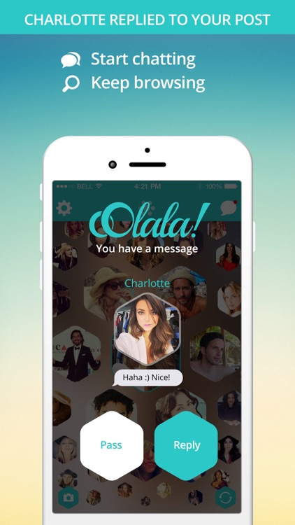 oOlala - The Instant Hangout App