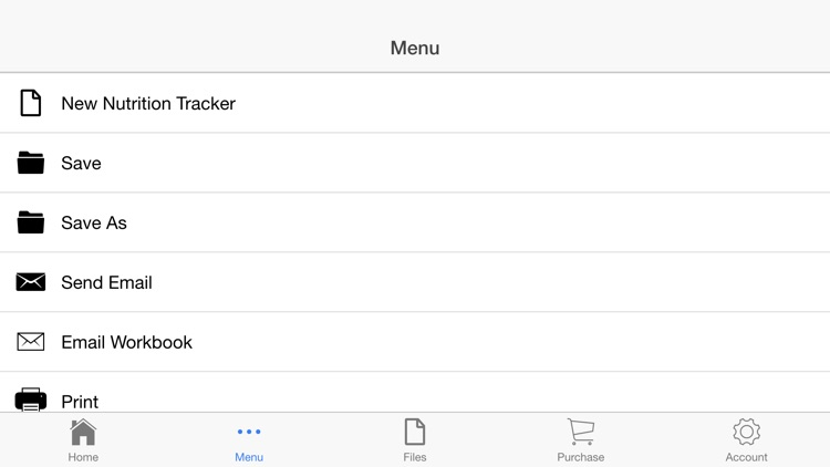 Nutrition Tracker screenshot-2