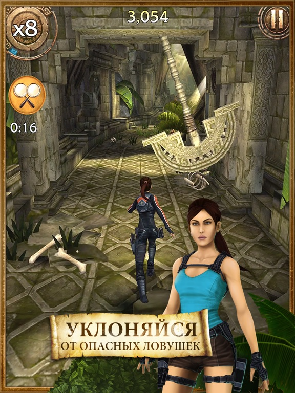 Игра Lara Croft: Relic Run