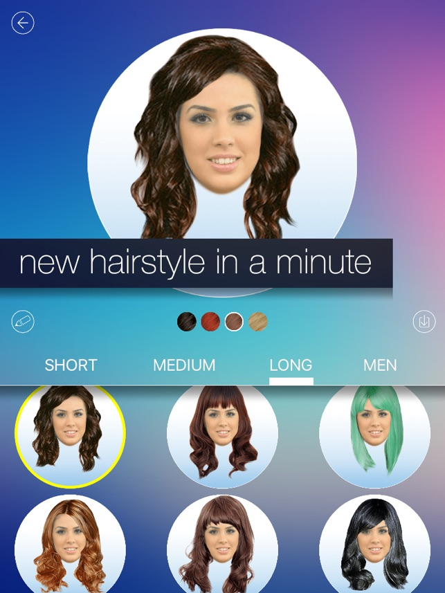 Hair Makeover New Hairstyle And Haircut In A Minute On The