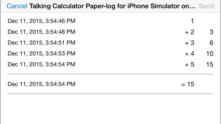 Talking Calculator screenshot-4