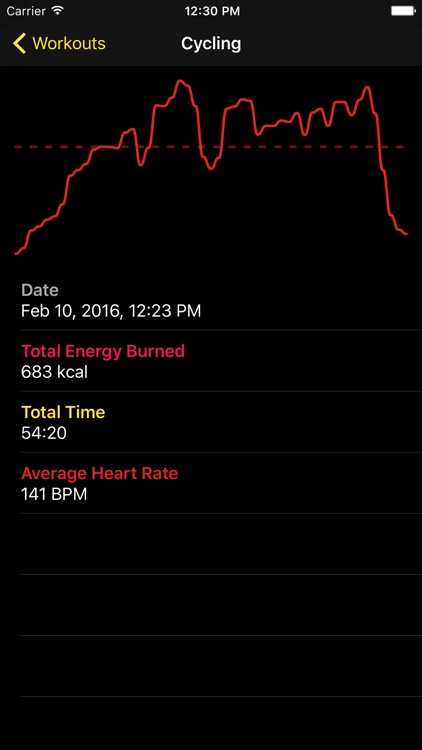 Workouts: Activity Tracker
