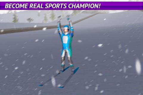 Ski Jumping Freestyle 3D screenshot 4