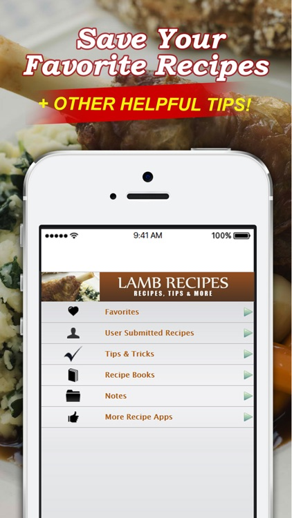 Lamb Recipes++ screenshot-3