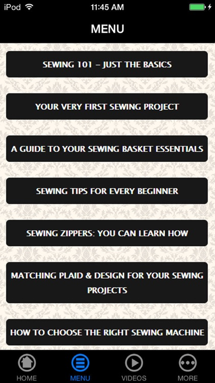 Best Sewing & Embroidery Made Easy Guide & Techniques for Beginners screenshot-4