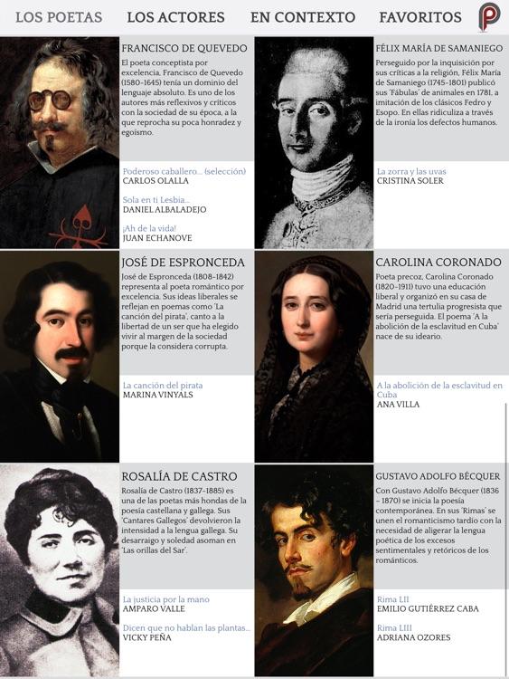 Poética 2.0: Poesía Española