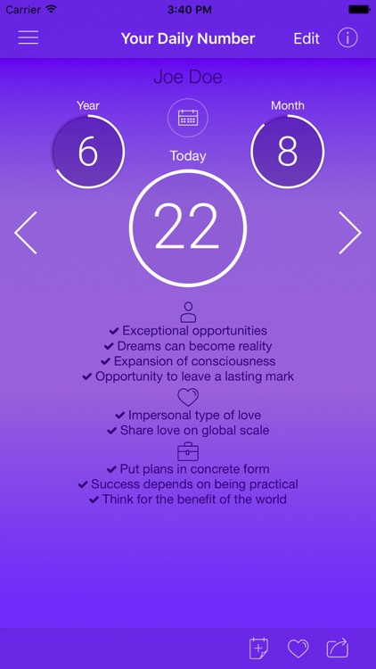 Numerology Light - Calculator Pro screenshot-0