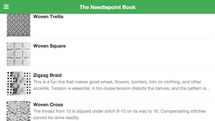 The Needlepoint Book App Lite