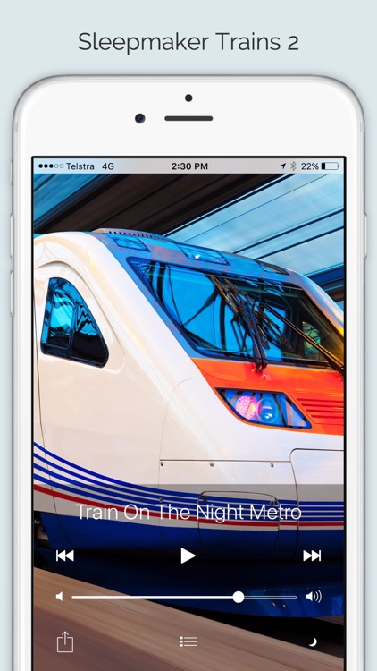 Sleepmaker Trains 2