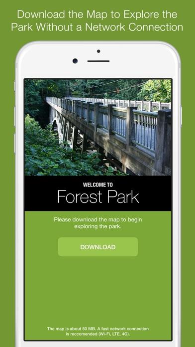 Screenshot for Forest Park Offline Trail Map, Portland, Oregon in United States App Store