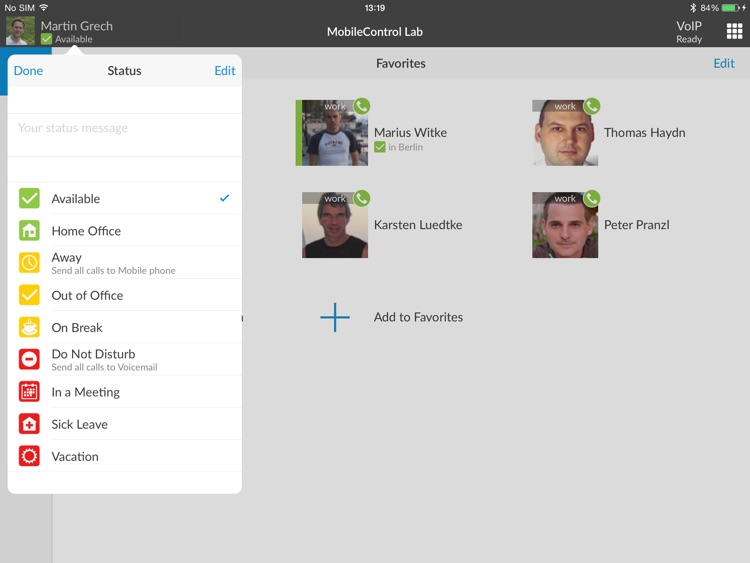 MobileControl LAB for iPad