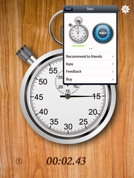 StopWatch for iPad screenshot-4