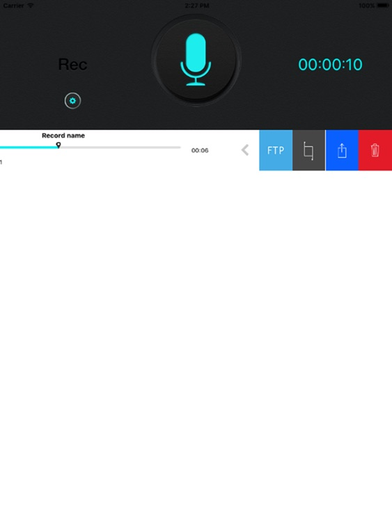 Super Voice Recorder for iPad, Record your meeting screenshot-3