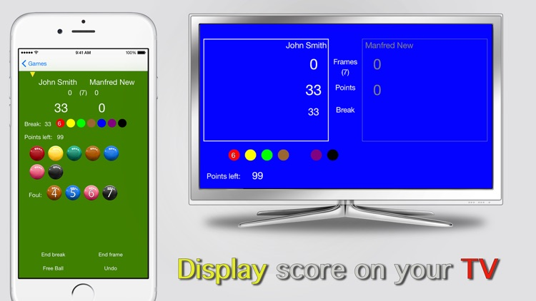 Snooker Scoreboard Pro screenshot-1