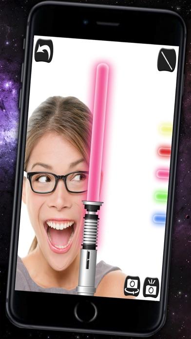 Jedi Lightsaber & Laser sword with sound - Pro screenshot three