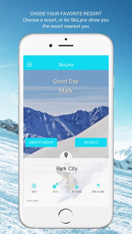 SkiLynx - Connect with your friends on the slopes!