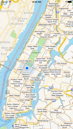 Map Of New York City Tourist Sites.Nyc Tourist Map Travel Map For New York City On The App Store