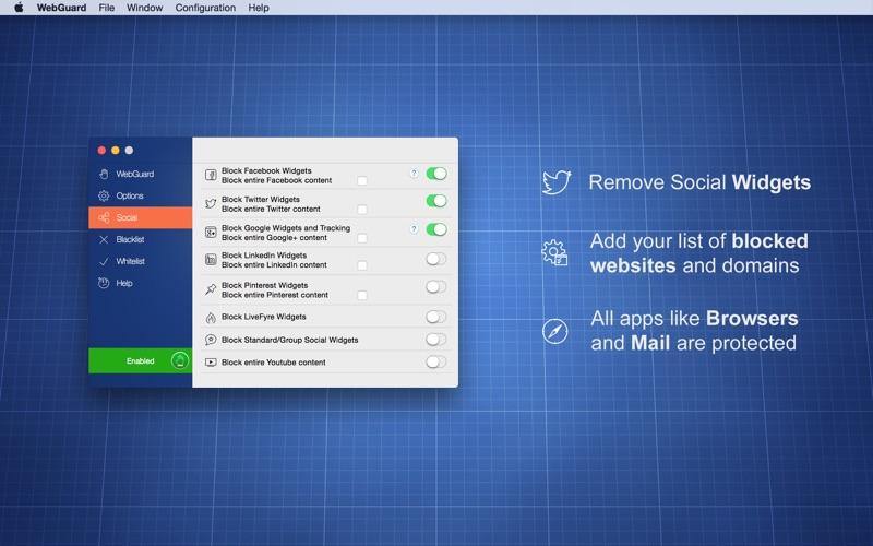 Screenshot #3 for WebGuard - AdBlocker & malicious popups protection