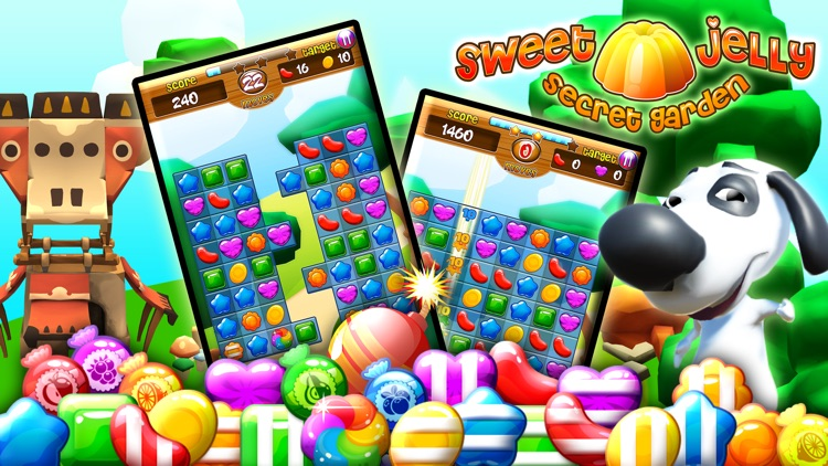 Sweet Jelly Secret Garden screenshot-0