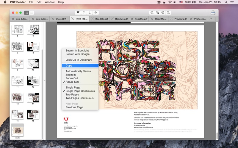 PDF Reader Q скриншот программы 2