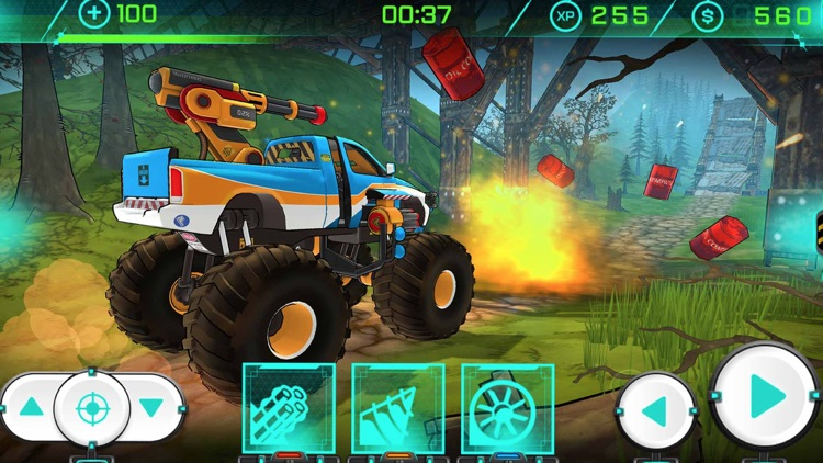 Trucksform - Offroad 3D Bigfoot Endless Racing screenshot-4