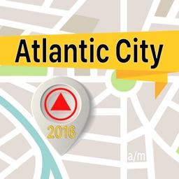 Atlantic City Offline Map Navigator and Guide